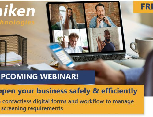 Upcoming Webinar: Reopen Your Business Safely & Efficiently