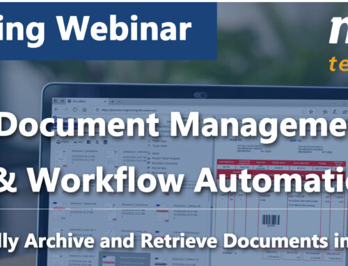 Upcoming Webinar: Document Management & Workflow Automation